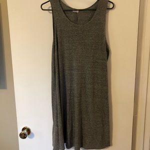 Tank top tshirt dress